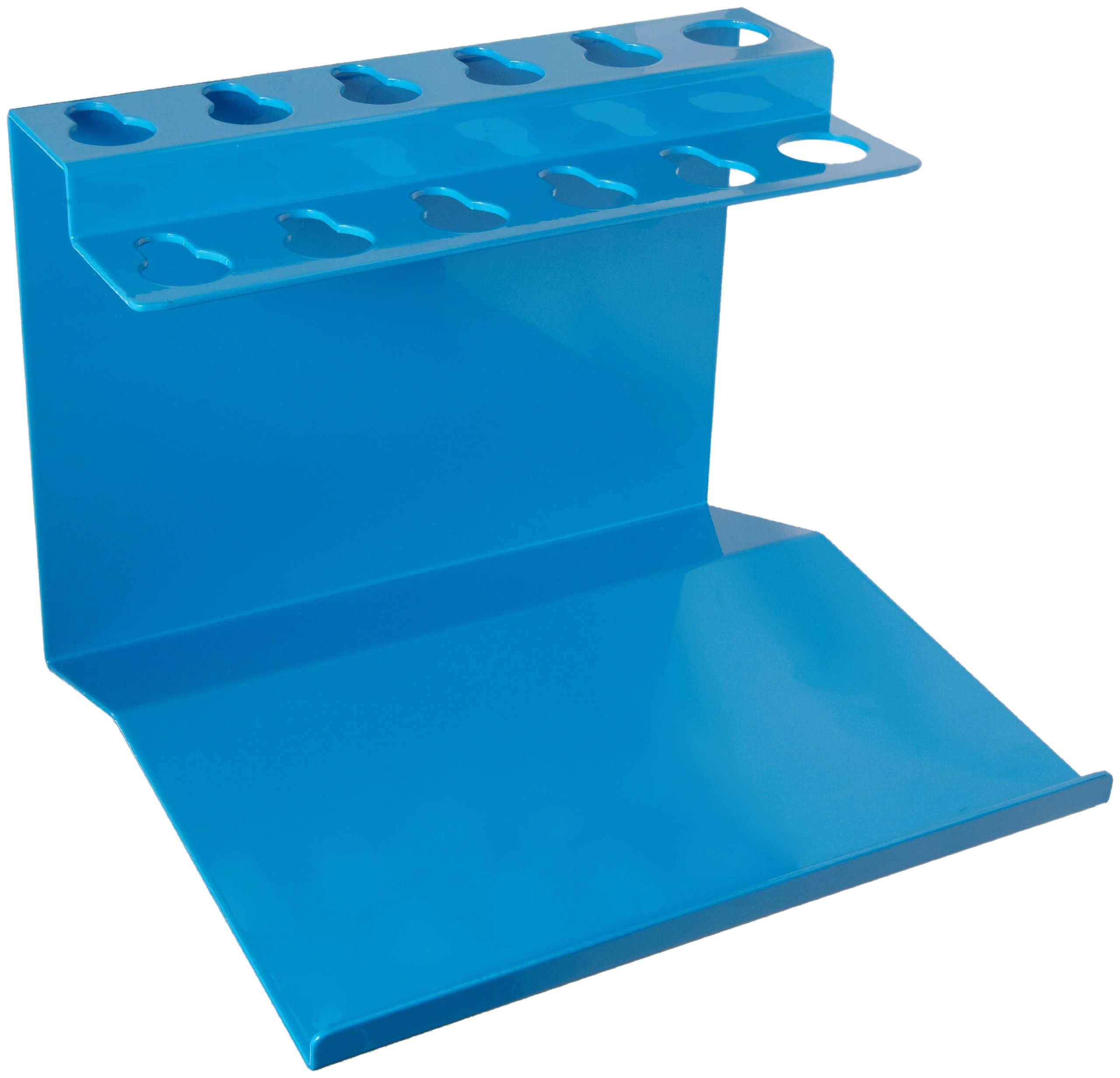 Bel-Art Poxygrid Aluminum Microliter Pipettor Rack for Gilson Pipetman with Extended Base (H18962-0004)