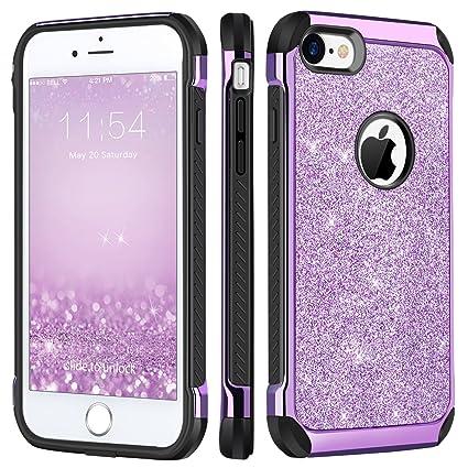 iphone 8 shockproof case glitter