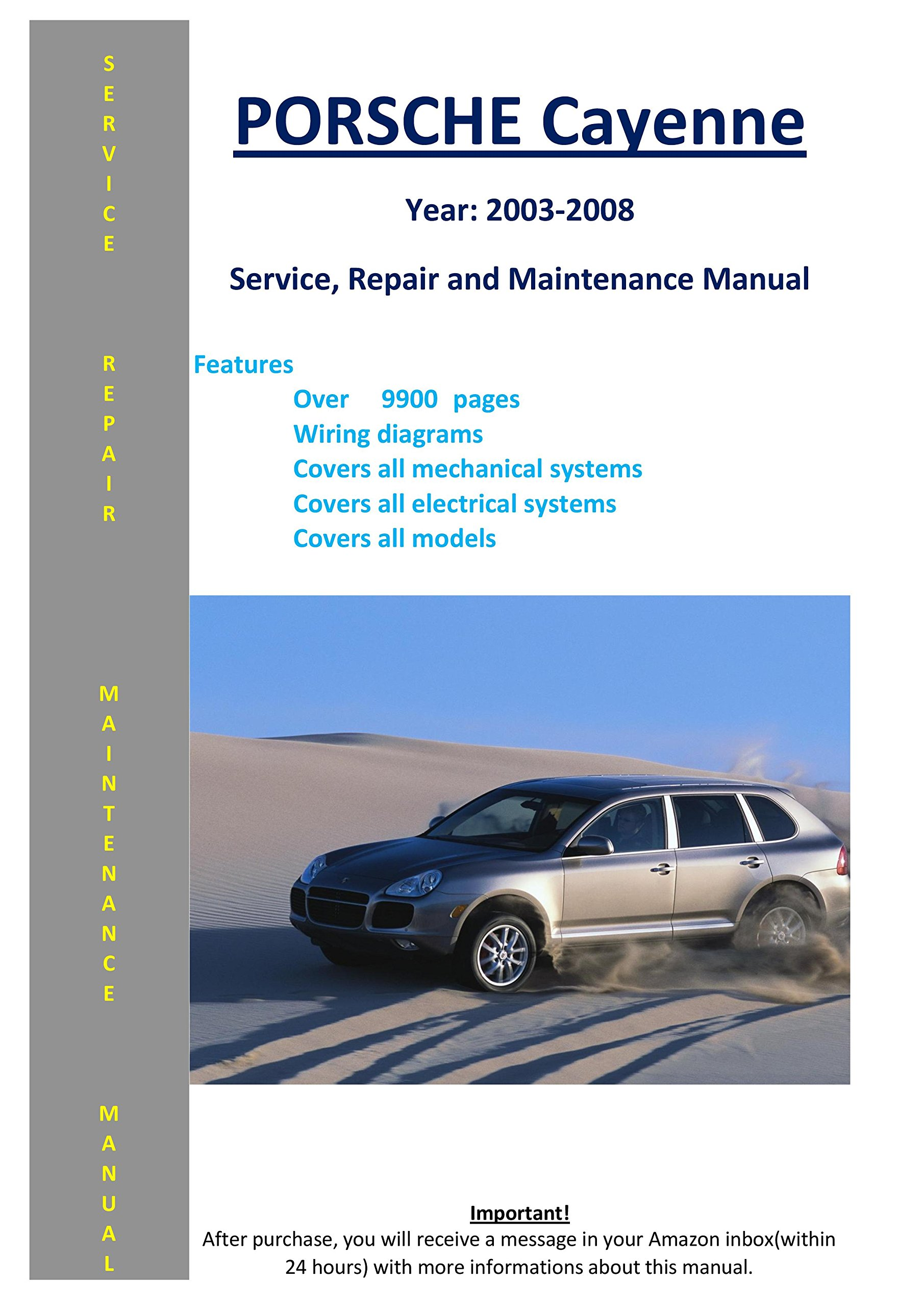 Porsche Cayenne From 2003-2008 Service Repair Maintenance Manual: SoftAuto  Manuals: 5048056045557: Amazon.com: Books