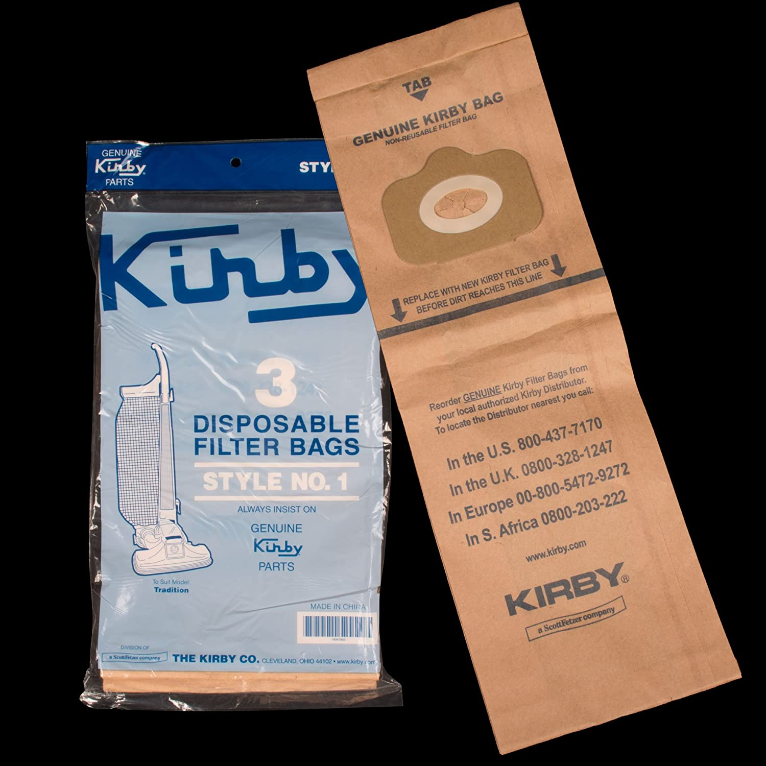 Kirby Upright Vacuum Cleaner Bags