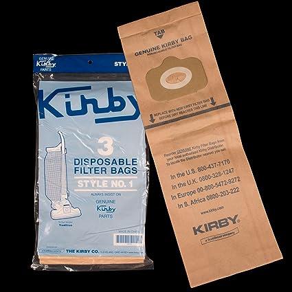 Bolsas al vacío para aspiradoras Kirby vertical: Amazon.es ...