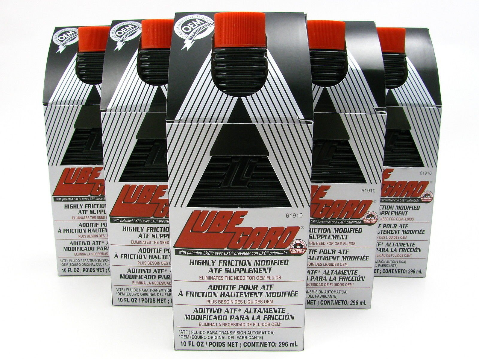LUBEGARD Lube Gard Highly Friction Modified Automatic Transmission Protect Black 6 pack