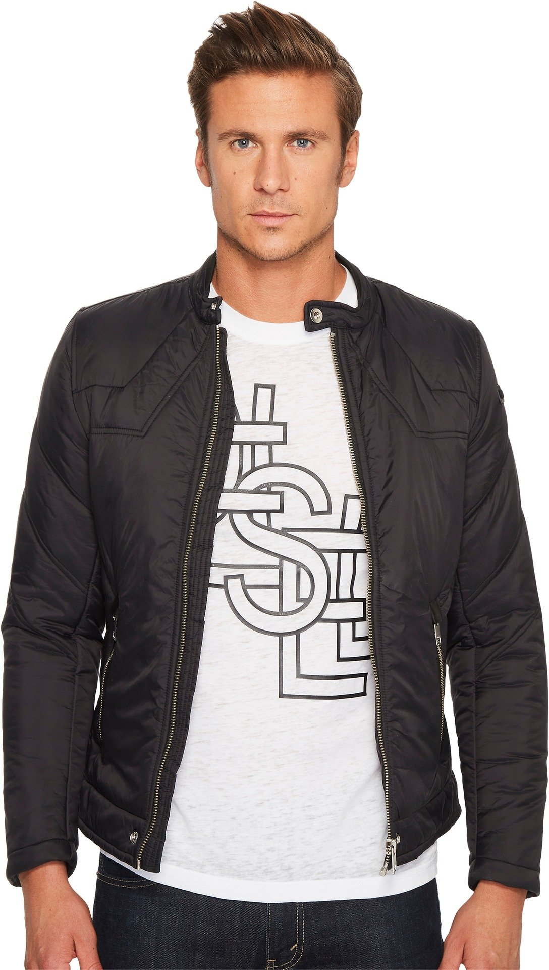 Diesel  Men's W-Deacon Jacket Black XX-Large