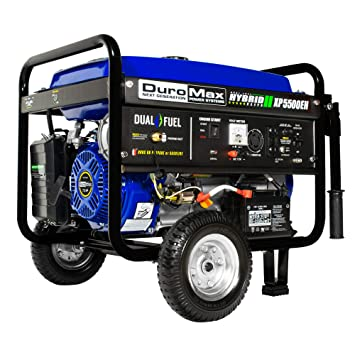 Amazon DuroMax XP5500EH 5 500 Watt 75 HP Portable Electric