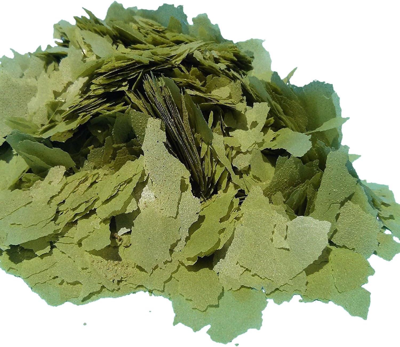 AF Green GRO Spirulina Flakes - Aquatic Foods Premium Tropical Fish Flakes