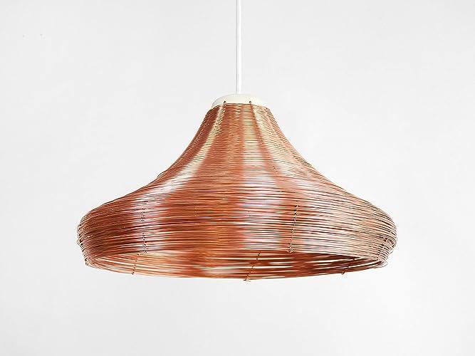 Lamparas de cobre de techo