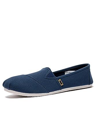0728282c1 Mens Rock & Religion Canvas Espadrilles | Designer Flat Sole Slip On Shoes  | UK 7