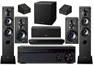 Sony 7.2-Channel Wireless Bluetooth 4K 3D HD Blu-ray A/V Surround Sound Home Theater System