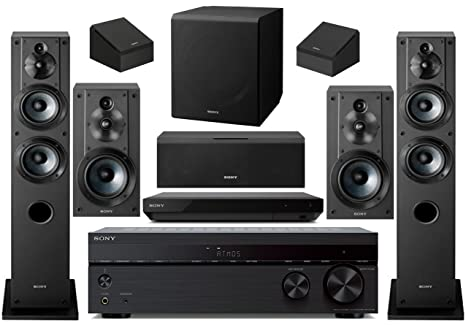 sony 7 2 channel wireless bluetooth 4k 3d hd blu ray a v surround sound home theater system