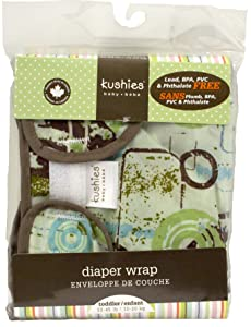Image: Kushies Taffeta Diaper Wrap | Premium quality | complete waterproof diapering system | fully adjustable for an optimum fit