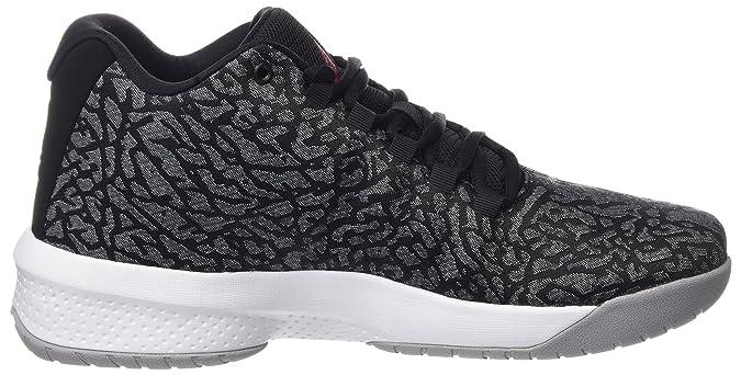 reputable site 0c713 f9b6c Nike Men s Jordan B. Fly Basketball Shoes Black Grey  Amazon.co.uk  Shoes    Bags