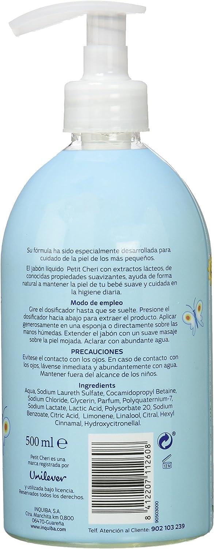 Petite Cherie Jabón Líquido - 500 ml: Amazon.es: Belleza