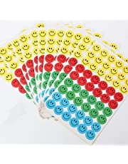 KINGSO1620 Smile Aufkleber Gesicht Sticker Set