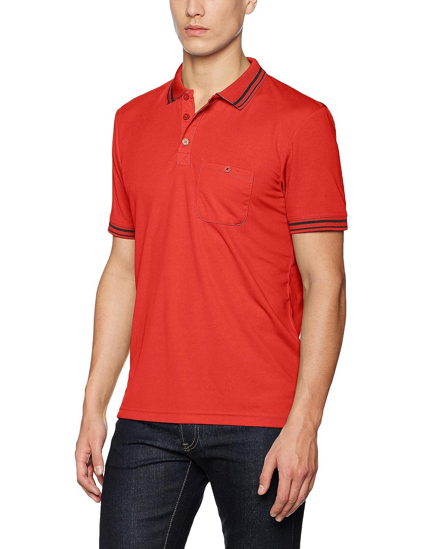 rouge (rouge noir) S JAMES & NICHOLSON Polo Homme