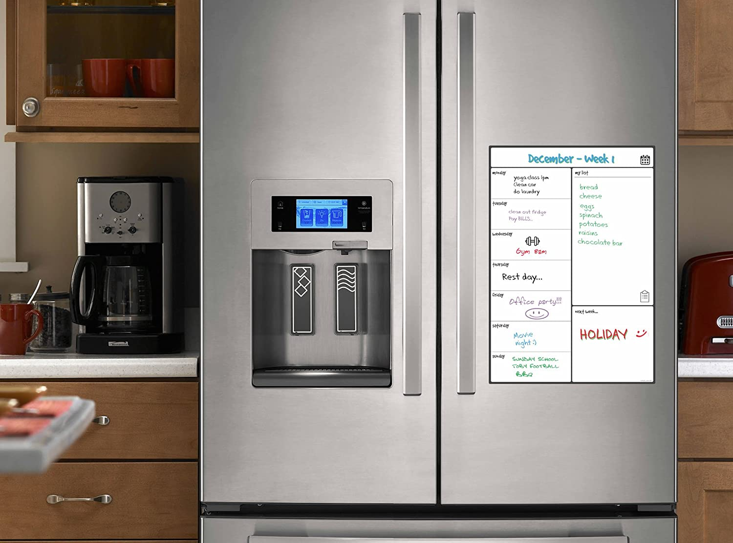 Uncategorized Pay Weekly Kitchen Appliances 34 best images about home and personal finance on pinterest magnetic white board fridge calendar by smart panda useful menu kitchen appliances pay