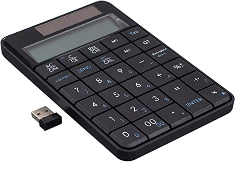 Clavier sans fil 2,4 G & calculatrice, Lcyyo @ Portable 29