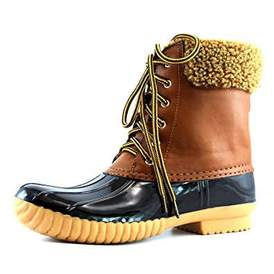 Amazon.com | Women's DailyShoes Warm Snow Booties Up Ankle High ...