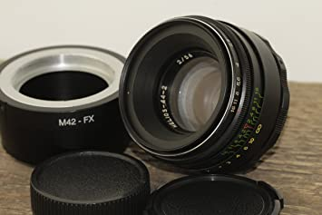 Helios 44-2 58mm F2 Russian Lens for FujiFilm FX Mount X-Pro1 X-E1 X-E2  X-M1 X-A1 X-A2 X-T1