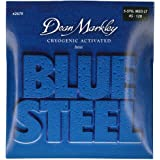 2 PACK Dean Markley Blue Steel Cryogenic Activated Bass Guitar Strings XL 40-95
