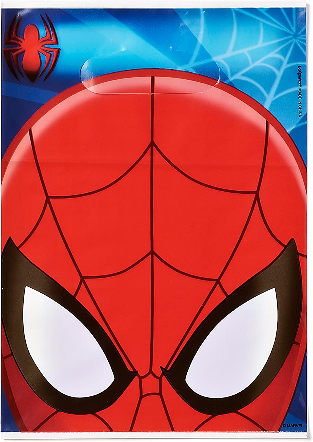 Tha Amazing Spiderman Spider-Man Spider Man Card Mask Party Celebrate Dress Up