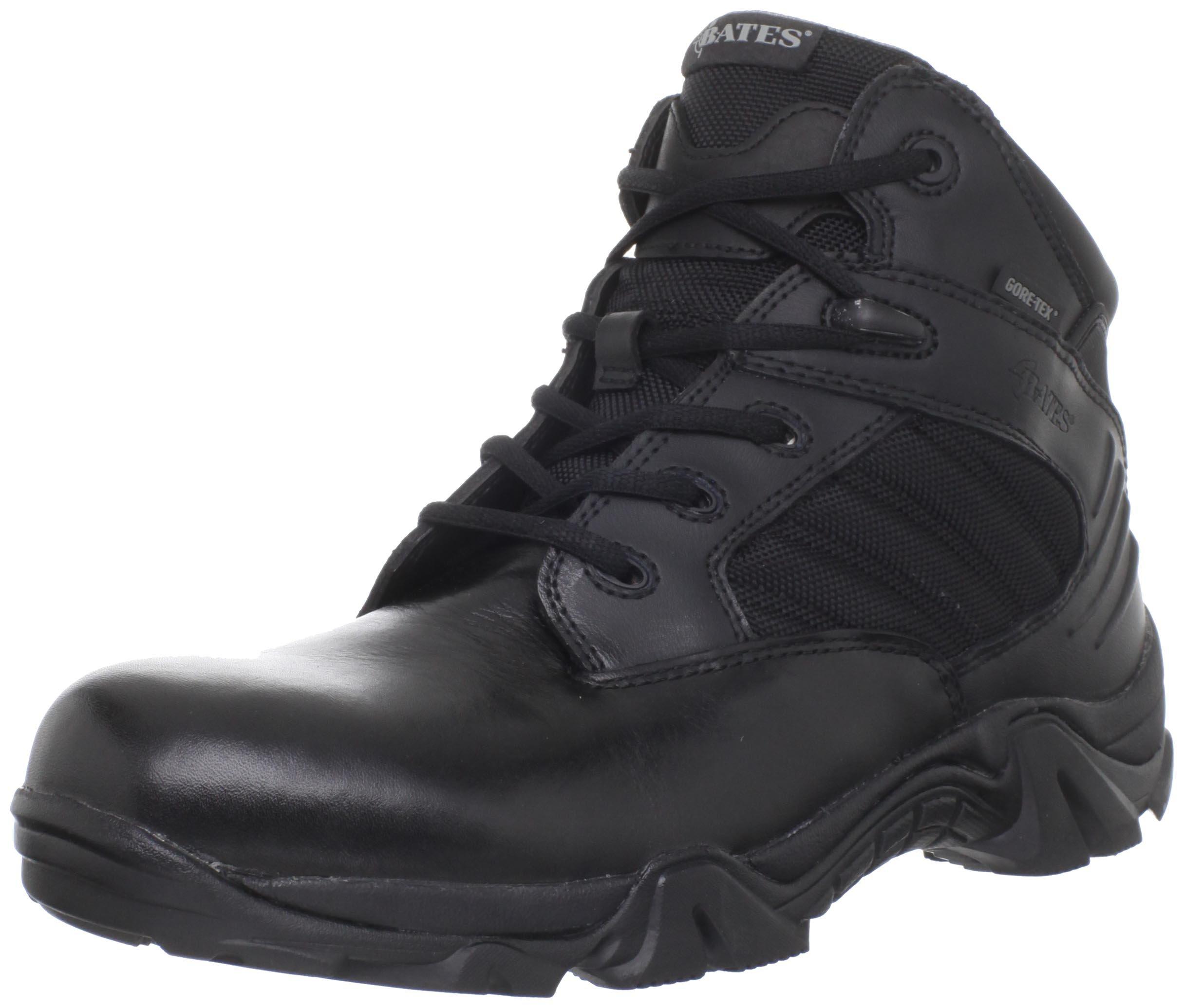 Bates Men's Gx-4 GTX Work Boot,Black,8 EW US