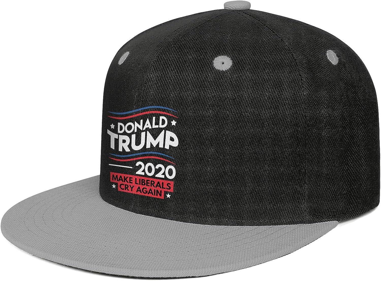 JDHASA Make Liberals CRY Again Mens Snapback Hat Baseball Caps Isor Hats Hip Hop Cap