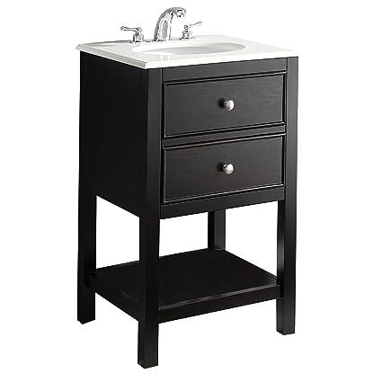 Simpli Home Wilmington 21u0026quot; Bath Vanity, ...