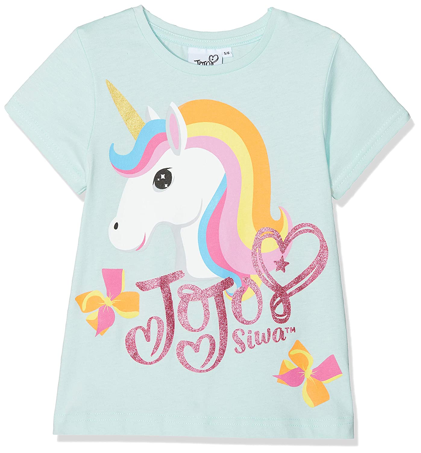 Jojo Siwa Unicorn And Bows, T-Shirt Bambina MO51723