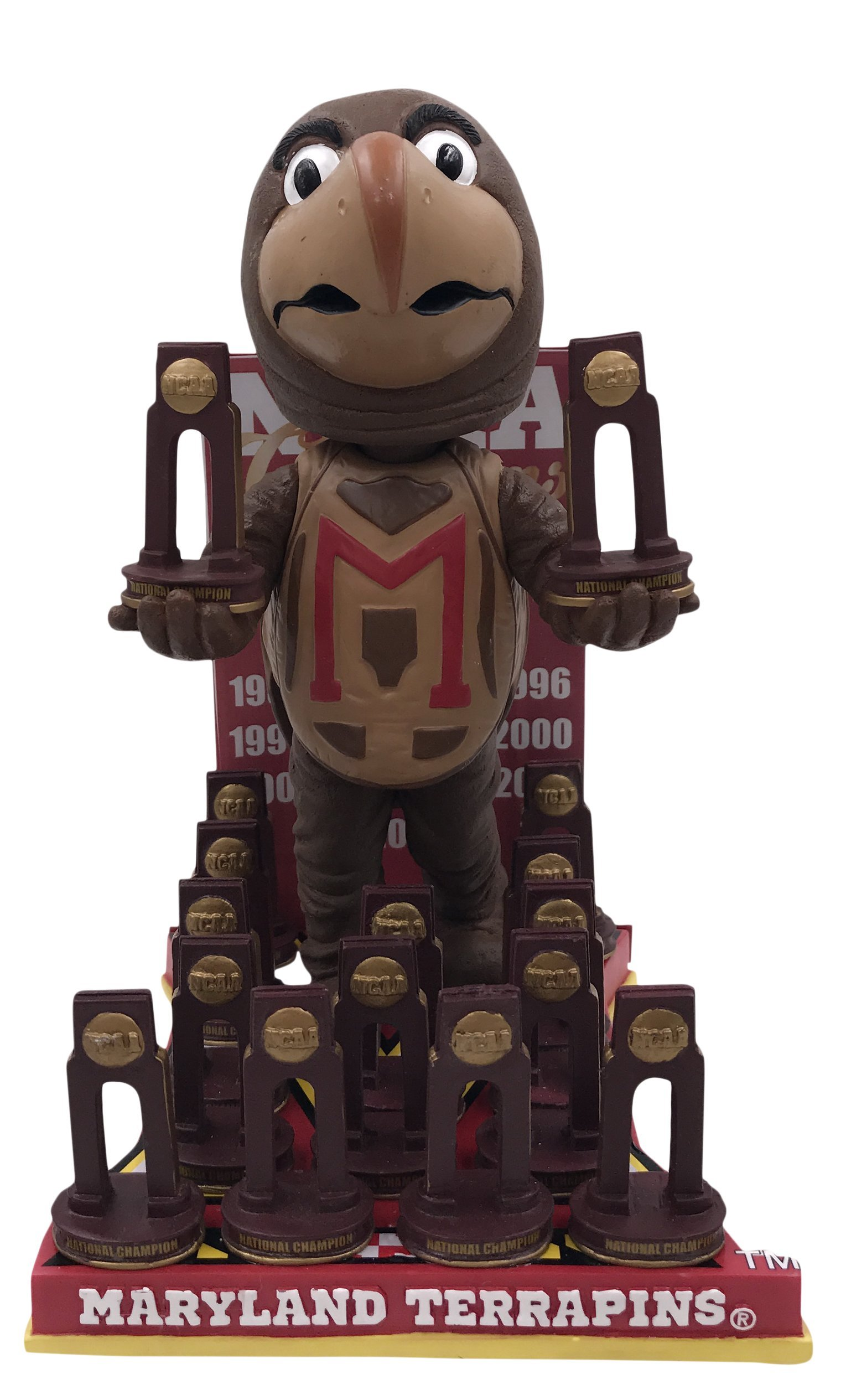 Forever Collectibles Maryland Terrapins NCAA Lacrosse National Champions Bobblehead by Forever Collectibles (Image #1)
