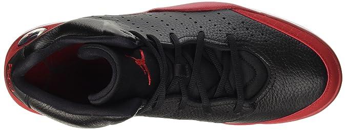 outlet store 2be53 86e91 Amazon.com   Nike Jordan Mens Jordan Flight Tradition Black Gym Red White  Basketball Shoe 12 Men US   Basketball