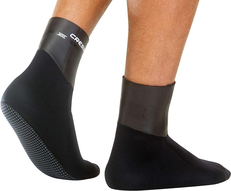 Socks 3 mm Neoprene Thermal Boots Black Cressi Sarago Socks 3 mm