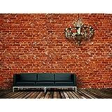 fototapete backstein rot stadt kt240 gr e 400x280cm tapete stein klinker alt k che. Black Bedroom Furniture Sets. Home Design Ideas