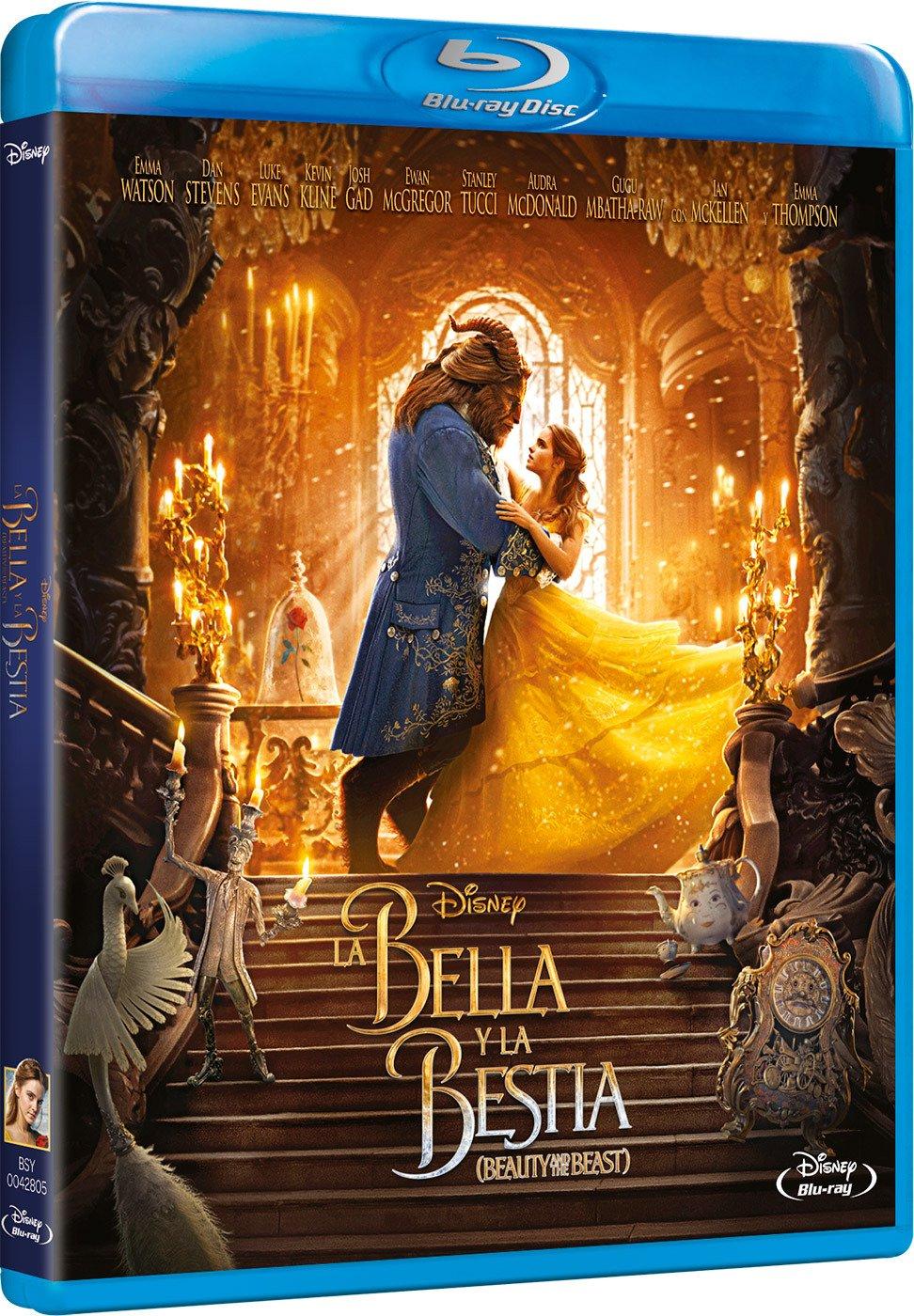 La Bella y La Bestia [Blu-ray]: Amazon.es: Emma Watson, Dan Stevens, Luke Evans, Bill Condon, Emma Watson, Dan Stevens: Cine y Series TV