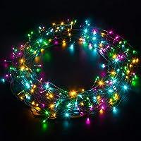 Elegear Luces Navidad 200LED Transformador IP44 Impermeable - Luces Led Navidad Multicolores 20M 8 Modos para Navidad…
