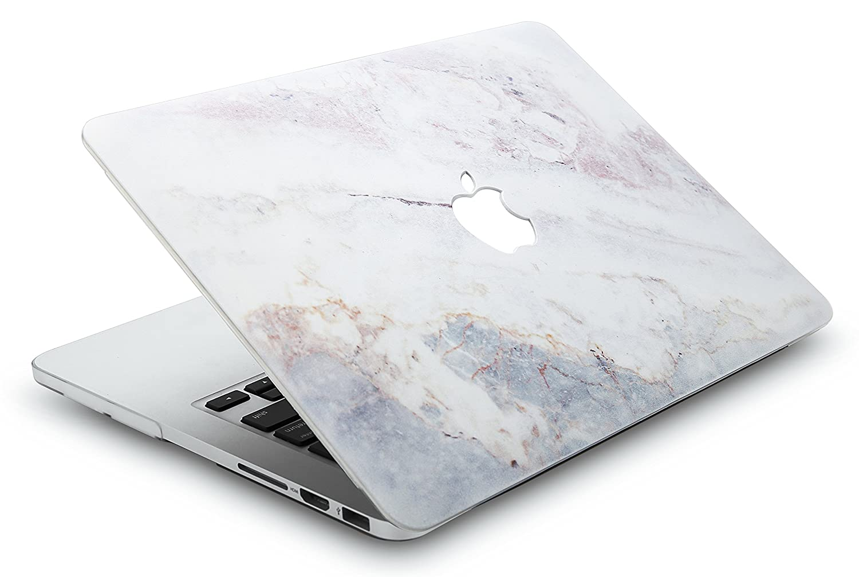2019//2018//2017//2016, Touch Bar M/ármol Blanco 2 KECC MacBook Pro 13 Pulgadas Lamina Protectora MacBook Pro 13.3 Ultra Delgado Pl/ástico {A1989//A1706//A1708} Funda Dura Case w//Cubierta Teclado