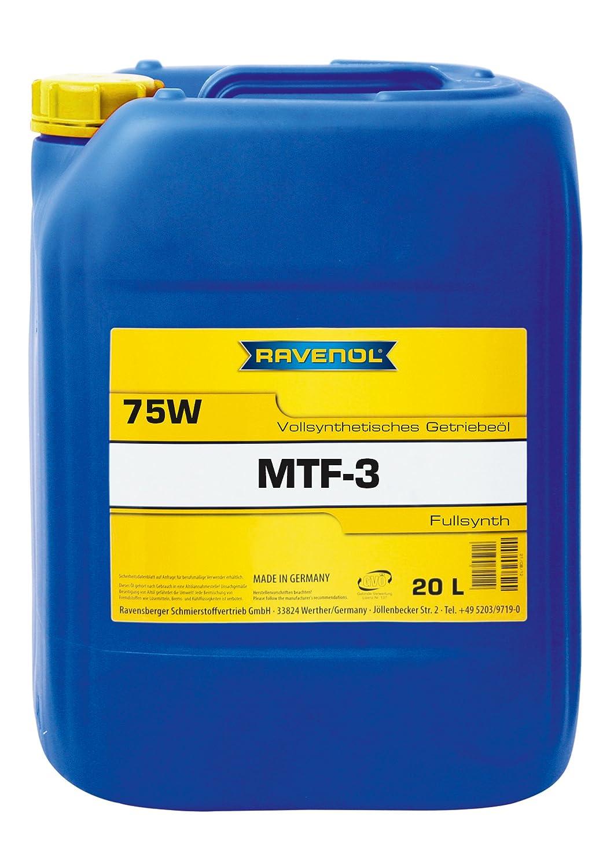 RAVENOL MTF-3 SAE 75W / Spezial-Getriebeö l vollsynthetisch, 1 Liter 1221104-001-01-999