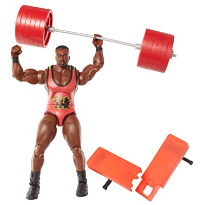 WWE Elite Collection Big E Langston Action Figure: Toys & Games