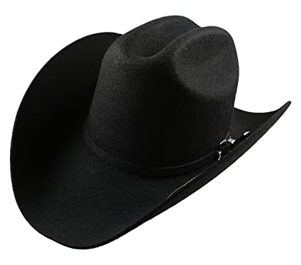 ea1cd1ef El General Men's Cowboy Hat Texana 5X Horma Durangense Color Black Wool (6  ...