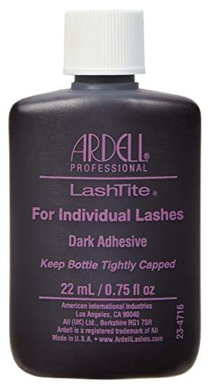 0099b6ee3bd Ardell Lashtite Adhesive, Dark, 0.75 fl.oz. Bottle: Amazon.ca: Beauty