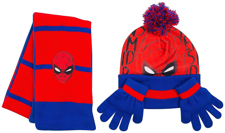 Bonnet Echarpe Gants Enfant Spiderman Marvel Avengers Frozen La Pat  Patrouille Paw Patrol Bonet Hiver Fille Enfants (Avengers)  Amazon.fr   Vêtements et ... d26c16cff8f
