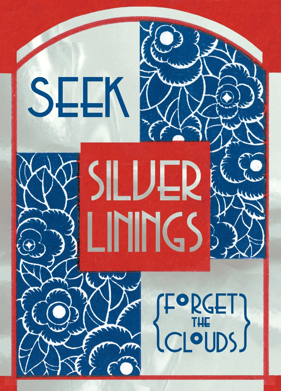 Seek Silver Linings, Forget the Clouds.  6 cards, individually bagged with envelopes (Greeting Card-Earth Day) ePub fb2 ebook