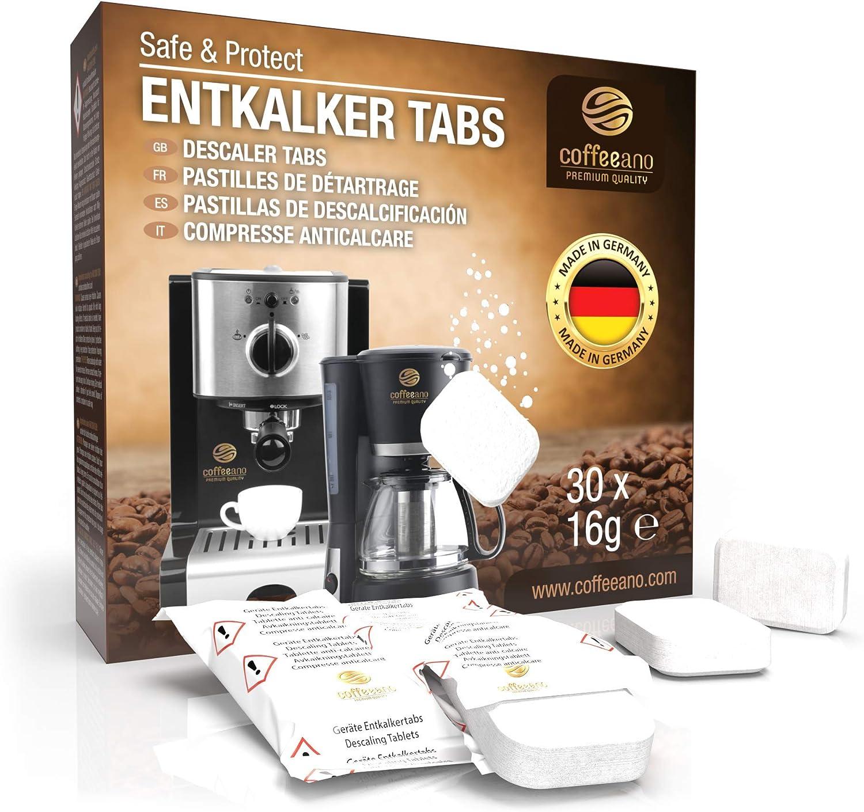 40 SKB Entkalkungstabletten für Nespresso Kaffeevollautomaten
