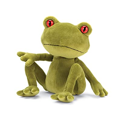 Jellycat Tad Tree Frog Stuffed Animal, Medium, 11 inches: Toys & Games