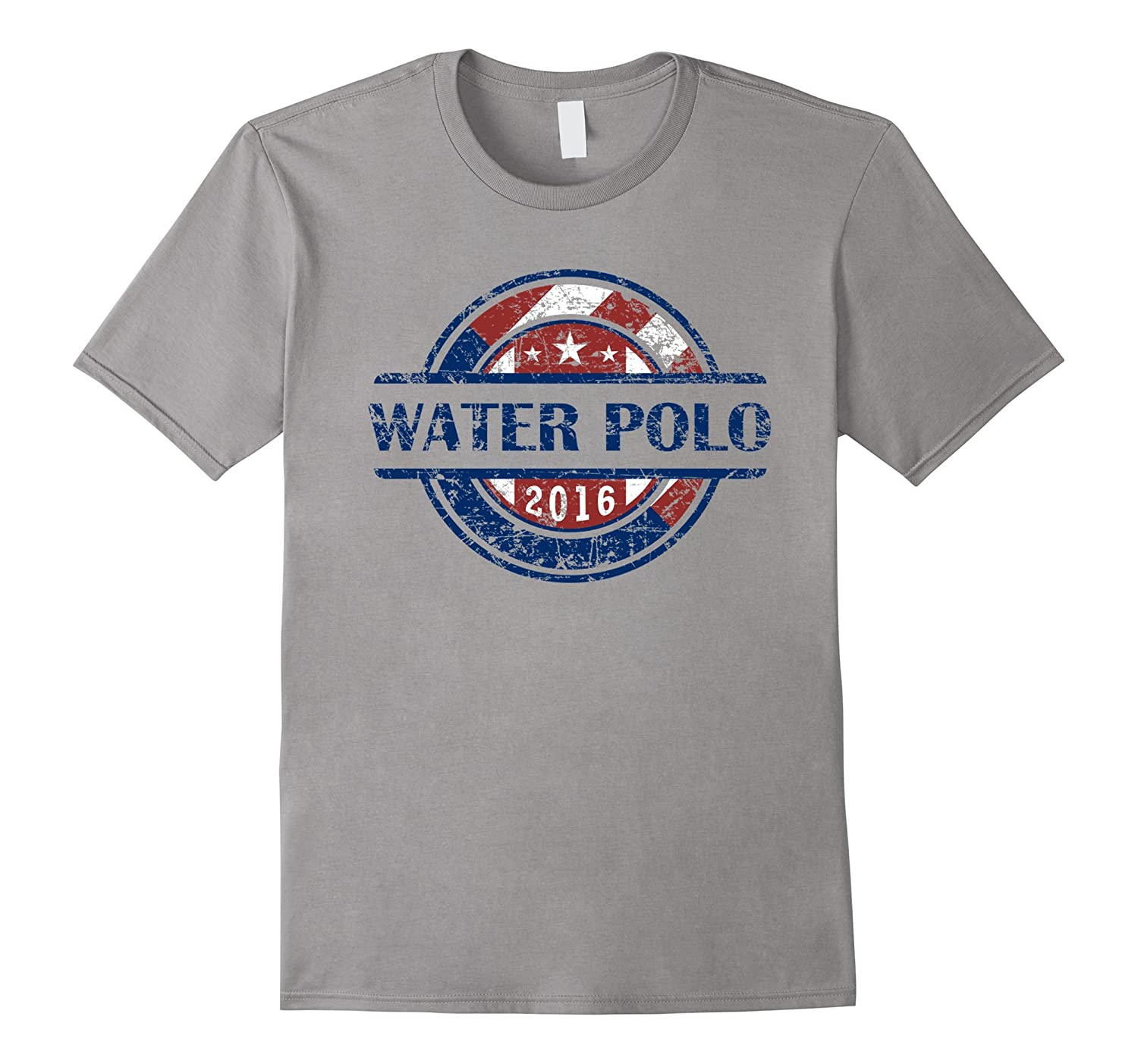 American Flag Water Polo 2016 Shirt, USA Gift, WP Team-BN