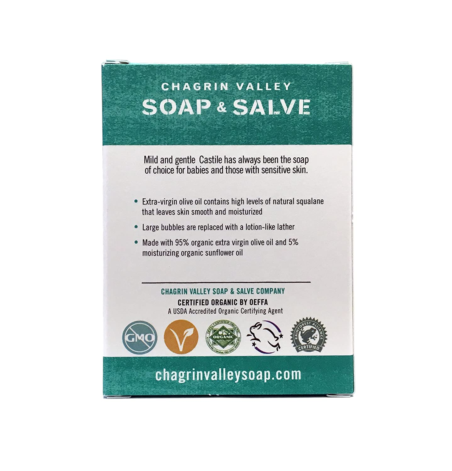 5b7b30b65d60 Amazon.com   Chagrin Valley Soap   Salve - Organic Natural Soap Bar ...