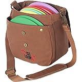 Disc Living Disc Golf Bag | Frisbee Golf Bag | Lightweight Fits Up to 10 Discs | Belt Loop | Adjustable Shoulder Strap…