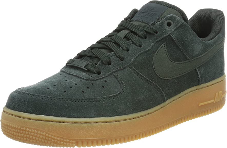 Air Force 1 '07 LV8 Suede Mens Basketball Shoes Outdoor GreenOutdoor Green aa1117 300 (9.5 D(M) US)