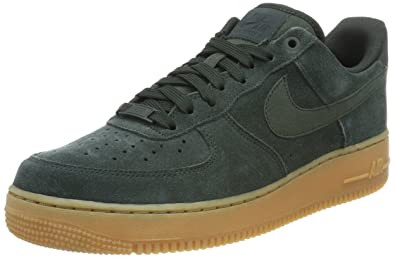 Amazon.com | Nike Air Force 1 '07 LV8 Suede Mens Basketball Shoes ...