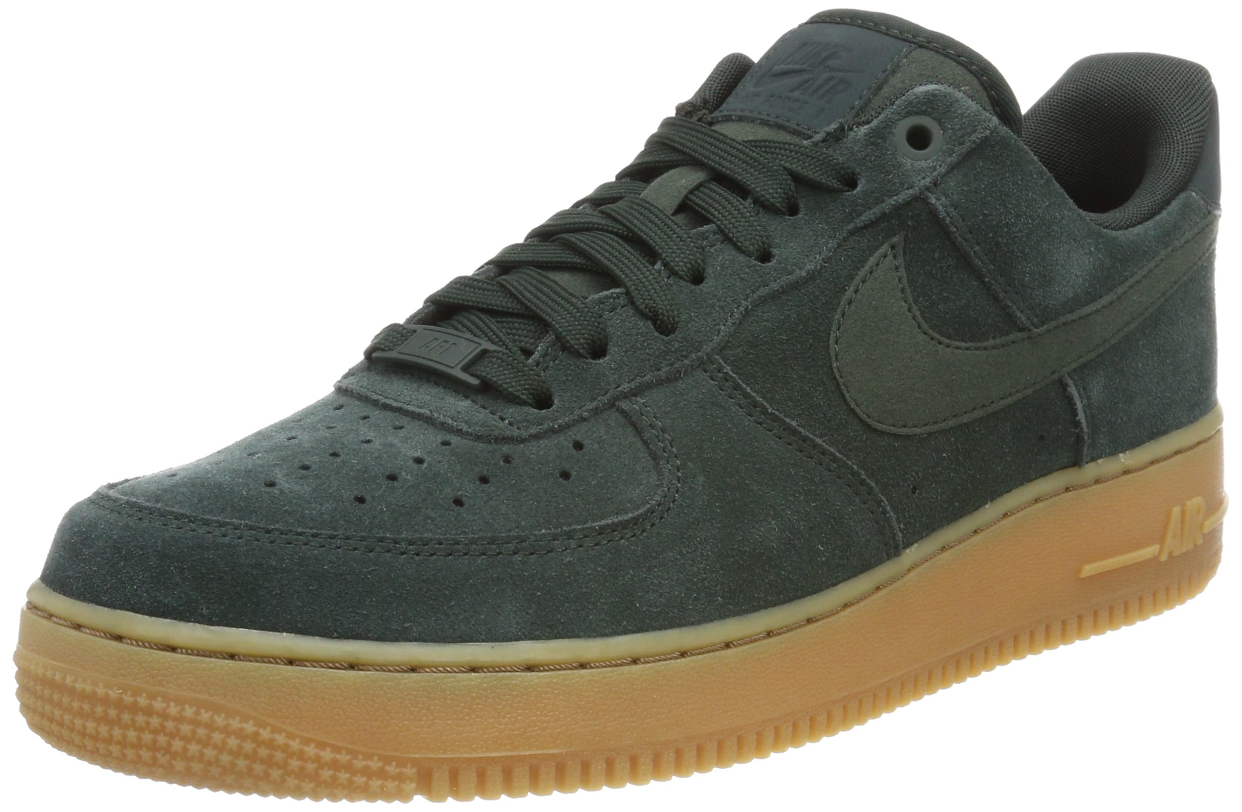 official photos b866b 73e6f Galleon - NIKE Air Force 1  07 LV8 Suede Mens Basketball Shoes Outdoor  Green Outdoor Green Aa1117-300 (10.5 D(M) US)