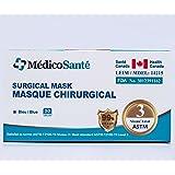 Medical Mask ASTM Level 3 - Surgical Mask - Procedure mask Level 3 (50 pcs) 3 Ply ASTM Level 3 by MédicoSanté